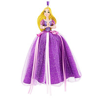 disney parks princess rapunzel tulle christmas ornament new with tag