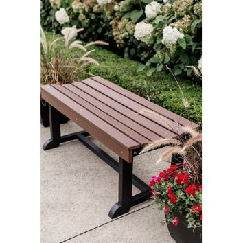 "Wildridge Heritage Outdoor Patio Bench 42"" - Ships in 10-14 Business Days"