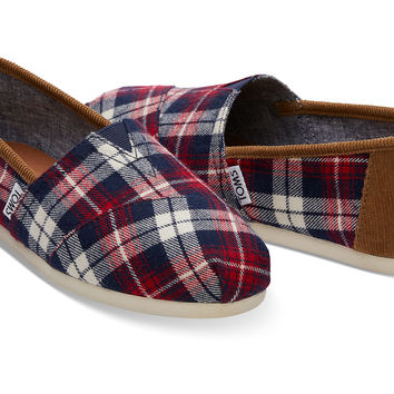 RED CHECKED PLAID WOMEN'S CLASSICS