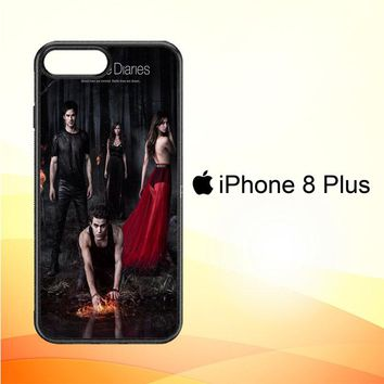Vampire diaries season 5 posters Z0151 iPhone 8 Plus Case