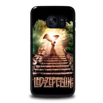 LED ZEPPELIN STAIRWAY TO HEAVEN Samsung Galaxy S7 Edge Case Cover