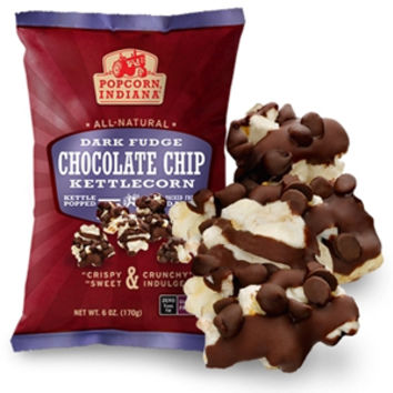 Popcorn Indiana Dark Chocolate Drizzled Popcorn 5 oz Bags - Pack of 3