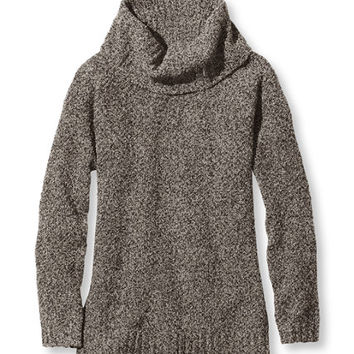 Women's Cozy Boucl Sweaters, Cowlneck Pullover | Free Shipping at L.L.Bean