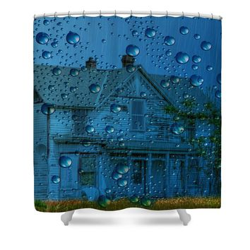 A bit of WHIMSY for the soul... Shower Curtain for Sale by Liane Wright