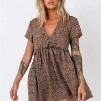 Underground Animal Mini Dress | Princess Polly