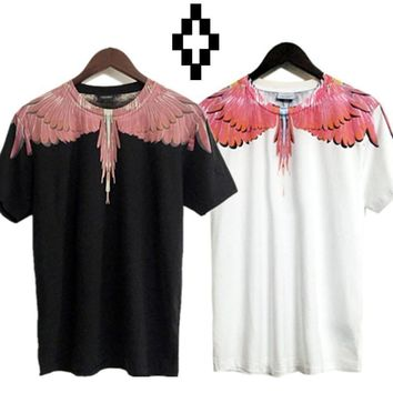 Marcelo Burlon T-Shirts County of Milan Wings Feathers