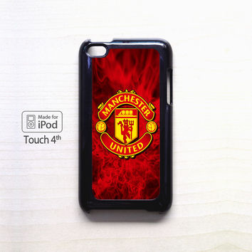 Fire For Manchester United for apple case iPod 4/iPod 5