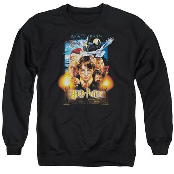 Harry Potter - Movie Poster Adult Crewneck Sweatshirt Officially Licensed Apparel