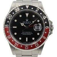 Rolex GMT Master II automatic-self-wind male Watch 16710 (Certified Pre-owned)