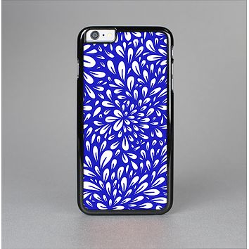 The Royal Blue & White Floral Sprout Skin-Sert for the Apple iPhone 6 Skin-Sert Case