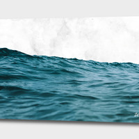 «Ocean & Marble», Limited Edition Acrylic Glass Print by Uma Gokhale - From $99 - Curioos