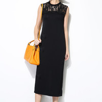Delicated Lace Ice Knit Dress DR0290