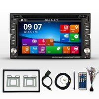 New 2 DIN Car DVD GPS Player audio for X-TRAIL PALADIN FRONTIER Double Radio Stereo In Dash MP3 Head Unit CD Radio Video stere
