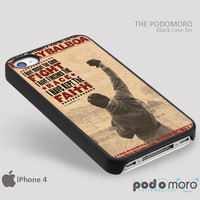 Rocky Balboa Poster for iPhone 4/4S, iPhone 5/5S, iPhone 5c, iPhone 6, iPhone 6 Plus, iPod 4, iPod 5, Samsung Galaxy S3, Galaxy S4, Galaxy S5, Galaxy S6, Samsung Galaxy Note 3, Galaxy Note 4, Phone Case