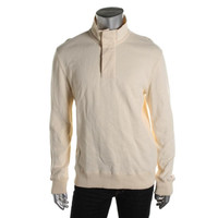 Tommy Hilfiger Mens Cotton Knit Polo Sweater