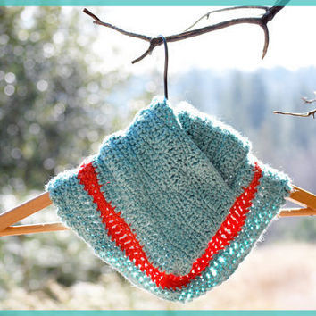 Ocean Waves Cowl Wrap  Womens Spring Fashion by anchorintime