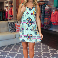 Tres Chic Tribal Dress - Sale!