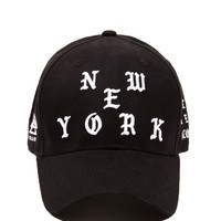 NEW YORK No More Trapping Dad Hat
