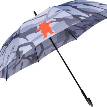 Grizzly Branch Camo Umbrella Grey