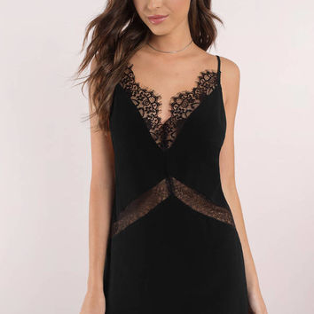 Lace Talking More Shopping Shift Dress