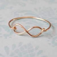 Dainty Infinity Ring -14Kt Gold Filled
