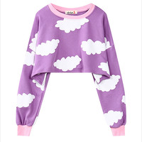 Cloud 9 Cropped Sweater
