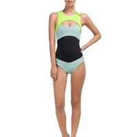Pop Surf Optic Nature Wetsuit One Piece ARJX103041 - Roxy