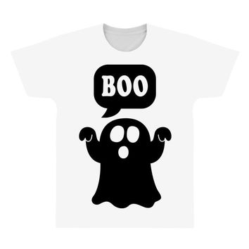 Ghost Boo All Over Men's T-shirt