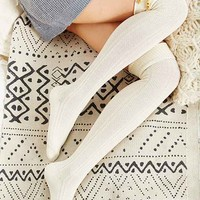 Toggle Cuff Over-The-Knee Sock