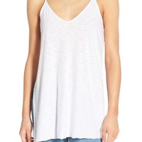 Michelle by Comune High/Low V-Neck Tank | Nordstrom