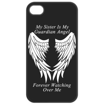 Sister Guardian Angel Phone Case  sisterguardiancase