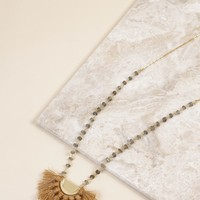 The Gabrielle Fan Necklace | BPD
