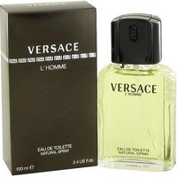 Versace L'homme Cologne Men Perfume Eau De Toilette Spray 3.4 oz 100 ml - Sealed