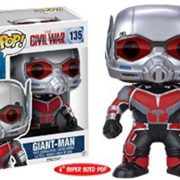 "POP Marvel: Captain America 3: Civil War - 6"" Giant Man Action Figure"