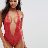 L'agent by Agent Provocateur Grace Lace Body at asos.com