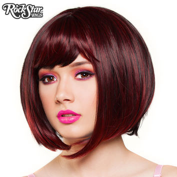 RockStar Wigs® Candy Girl Bob - Black Wine Blend - 00687