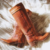 THE KNEE HIGH FRYE BOOTS