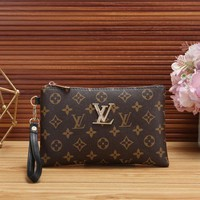 *Louis Vuitton* Women Fashion Zipper Purse Bag Wallet