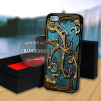 Steampunk Book Cover case for Note 2,3-iPod 4th 5th-iPhone 5,5s,5c,4,4s,6,6+[ 2Gtk ]-LG Nexus-HTC One-Samsung Galaxy S3,S4,S5