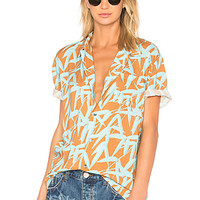 DOUBLE RAINBOUU Hawaiian Shirt in Bamboozy | REVOLVE