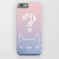 Stay Curious | Serenity & Rose Quartz iPhone & iPod Case by Miss L In Art