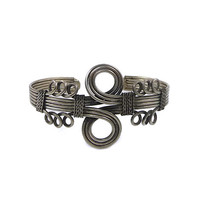 The Infinity Cuff - Silver