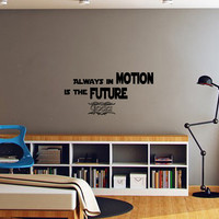 Star Wars Quote Wall Decals Quotes - Wall Vinyl Decal Stars - Wall Home Decor - Housewares Art Wall Vinyl Quote Decal   L553