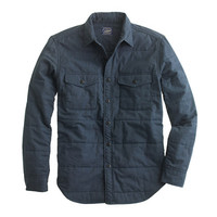 J.Crew Mens Quilted Twill Workshirt