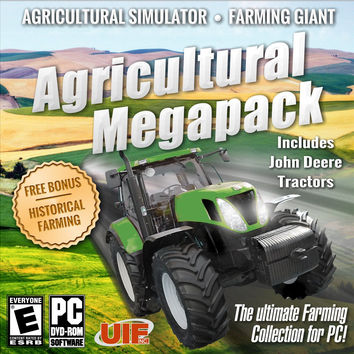 Agricultural Megapack - Windows 7 PC CD (Very Good)