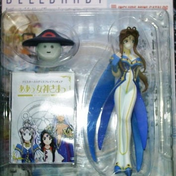 Hobby Base Ah Oh My Goddess Belldandy 1P Color Ver. Trading Collection Figure Set