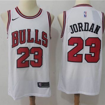 NBA Basketball Swingman Jerseys Chicago Bulls # 23 Michael Jordan White