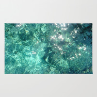 Water Area & Throw Rug by rapplatt | Society6