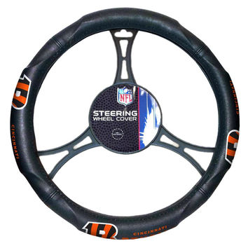 Cincinnati Bengals NFL Steering Wheel Cover (14.5 to 15.5)