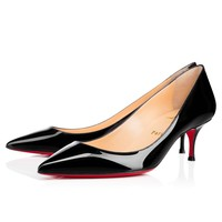 Best Online Sale Christian Louboutin Cl Pigalle Follies Black Patent Leather 55mm Stiletto Heel 16s
